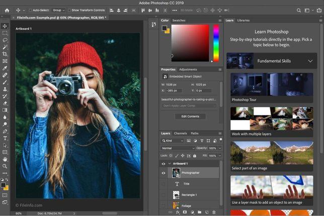Работа с фотошопом, обработка фото для инстаграмма