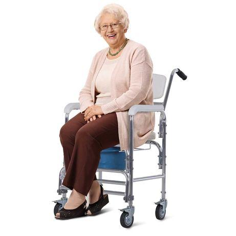 Wózek  balkonik  Pomoc przy Poruszaniu Biały