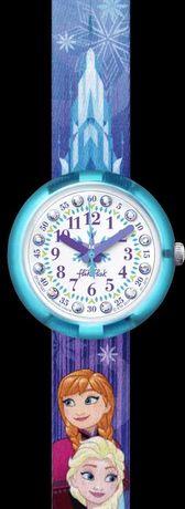 Relógio Flic Swatch Frozen ideal para aprender as horas!