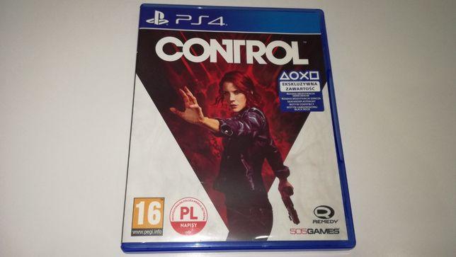 PS4 CONTROL PL po polsku gra akcji , warto zagrać