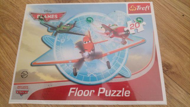 Nowe puzzle Trefl z serii Cars Samochody duże 20 elementów na prezent