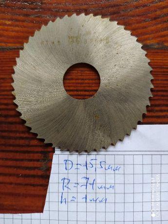 Фрези відрізні і прорізні різних діаметрів та конфігурацій