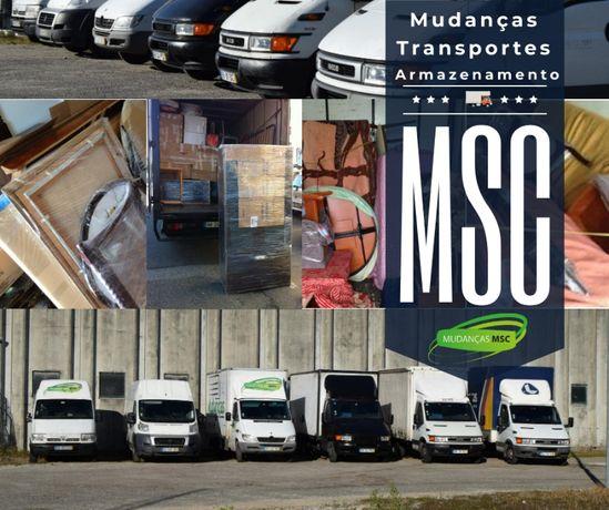 Mudanças MSC mais de 10 anos ao seu serviço Armazenamento temporário