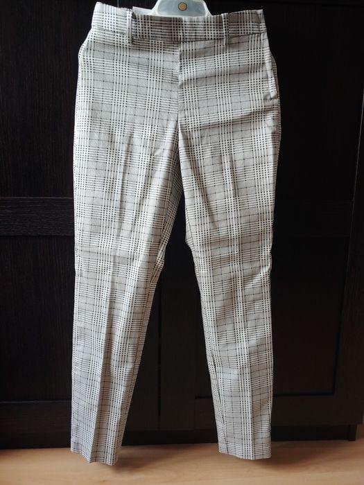 Spodnie w krate H&M Nowe z metka Trzebinia - image 1