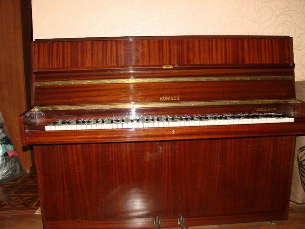 Немецкое фортепиано пианино Ronisch Super хорошее состояние