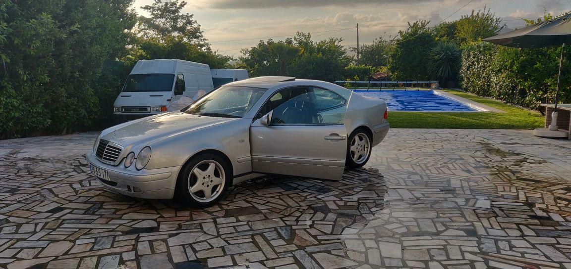 Mercedes Clk 320 V6 225cv gas./GPL.Aceito motas/imoveis