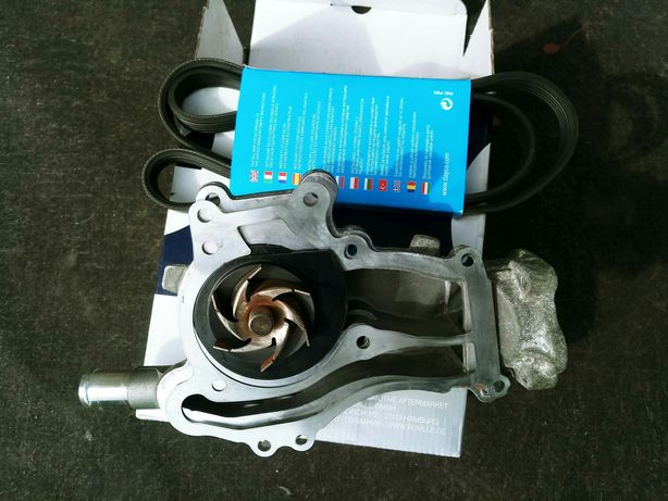 Pompa wody opel corsa D 1.2 A12XER oryginał GM sprawna + pasek klinowy
