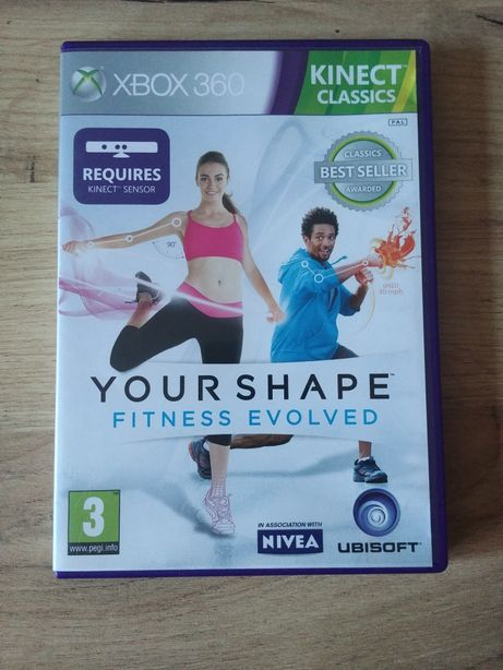 Gra na xbox 360 kinect your shape fitness evolved