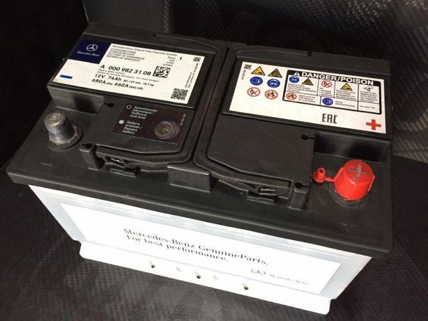 Stróża - Nowy akumulator Oryginał MERCEDES 74Ah 680A (Varta Bosch)