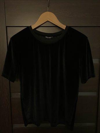 Welurowa koszulka rozmiar M