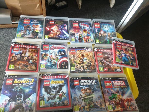 Ps3 gry lego jurasic world avengers