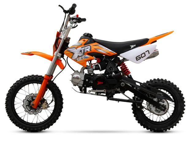 CROSS XTR 607 125 cc E-START 14/12 17/14 Raty Transport
