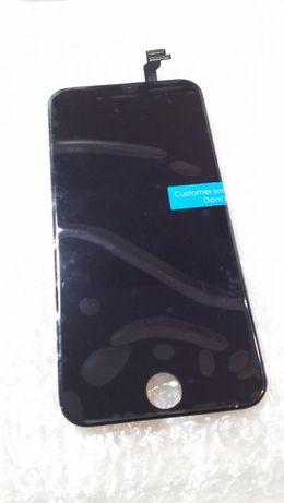 Lcd vidro frontal ecra display apple iphone 6 preto ou branco