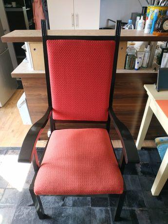 Fotel krzesło retro z 70/80lat z PRL