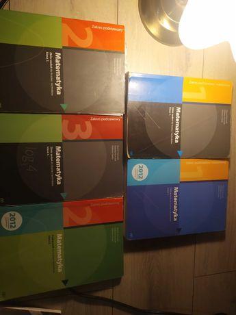 Sprzedam zbiory zadań i podręczniki do matematyki