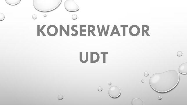 Konserwator resurs UDT UTB wózki hds podnośniki windy