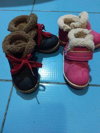 Ботинки зимние на девочку, мальчика