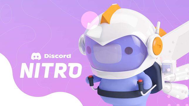 Подписка Discord Nitro на 3 месяца + 2 буста
