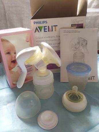 Ручной молокоотсос Phillips Avent + подарки