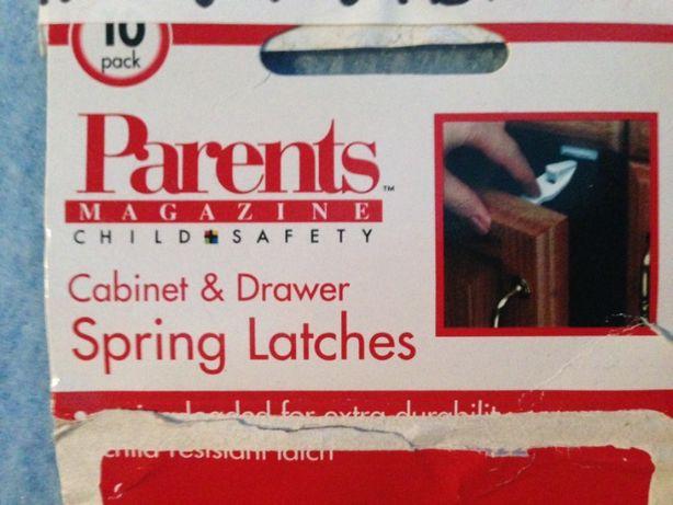 Защиты от детей мебель ящики шухляды USA