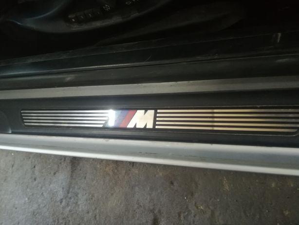 E46 coupe cabrio progi wewnętrzne mpakiet