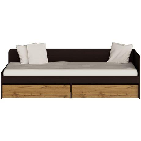 Кровать Соната односпальная с 2 ящиками 800х1900 мм