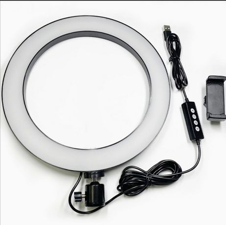 Профессиональная Кольцевая Led Лампа 26 см