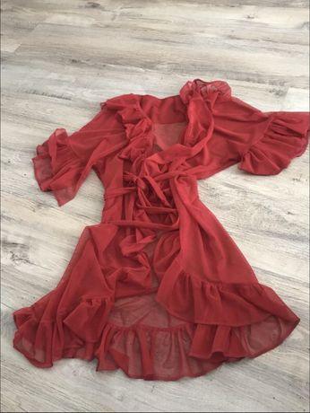 Прозрачный халат