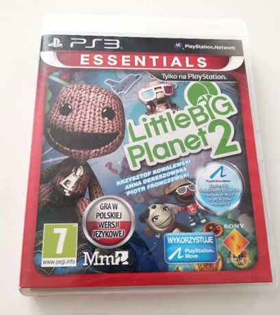 Little Big Planet 2 / Polski Dubbing / Gra PS3