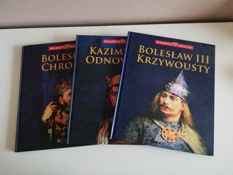 Książki Władcy Polski kolekcja Hachette Odnowiciel Chrobry Krzywousty