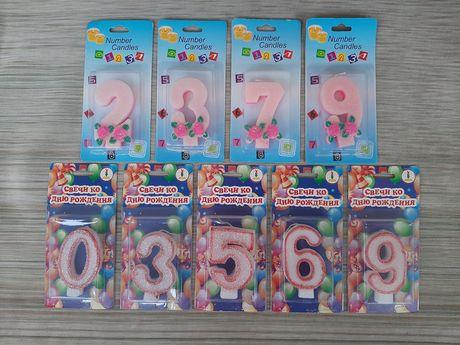 Свеча — Цифра ко дню рождения