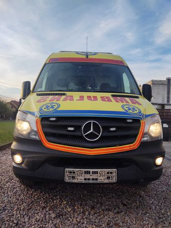 Karetka Ambulans Mercedes Sprinter 3.0V6
