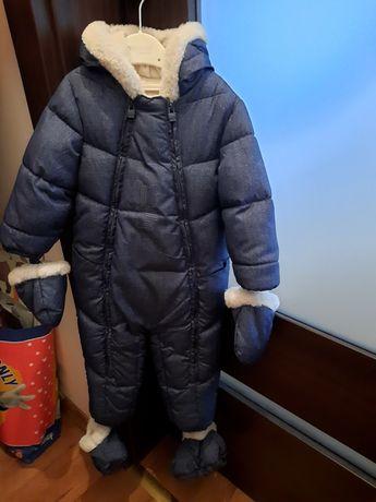 Zimowy kombinezon dziecięcy Mayoral. Jak nowy !