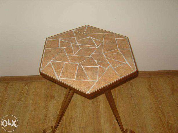 Stolik kawowy mozaika (hand made)