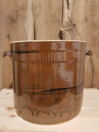 Garnek kamionkowy 7 litrowy do kiszenia