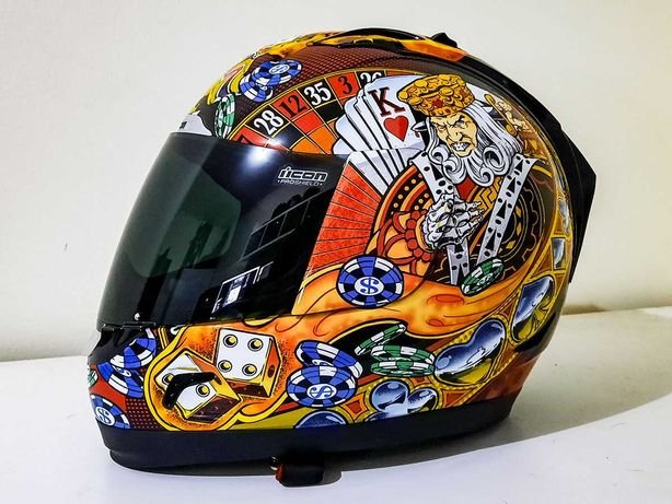 capacete icon Alliance lucky lid xxl
