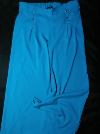 Atmosphere Палаццо кюлоты легкие стильные широкие брюки (L)