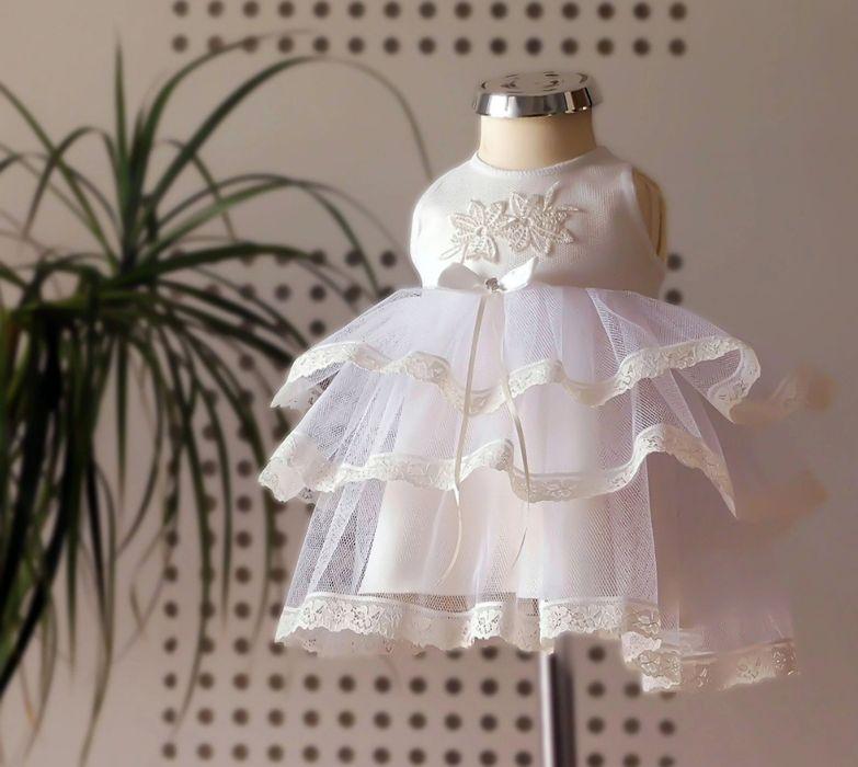 Sukienka do chrztu r 62 Lublin - image 1