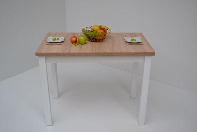 Stół kuchenny Edwin 100x60x32 Dąb Sonoma n.biała Okazja!!!