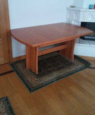 Stół z drewna bukowego, rozkładany 160-320 cm długości