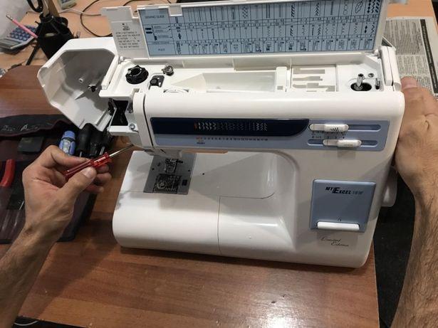 Ремонт и настройка швейных машин и оверлоков 0719816266