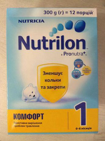 Сухая молочная смесь Nutrilon Pronutra Комфорт №1 (0-6 мес)