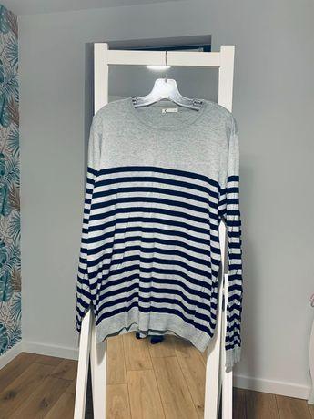 Sweter meski w paski M