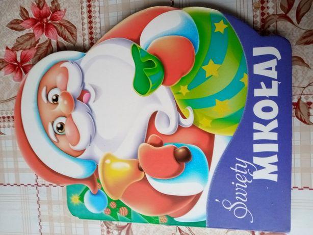 Książka o Świętym Mikołaju.