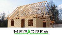 Drewno na dach, więźba, łaty, kontrłaty, C24
