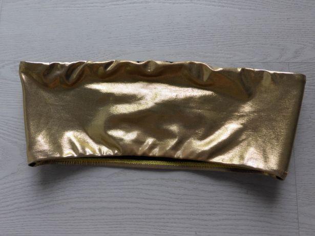 Złoty top bandeau stanik opaska New Look 36,S
