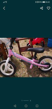 Rowerek biegowy decatlon dla dziewczynki