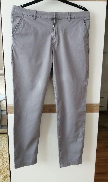 Szare spodnie loog roz 42 XL materiałowe damskie kieszonki casual Dęblin - image 1