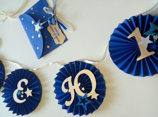Гирлянда на День Рождение растяжка имя декор для праздника кенди бар