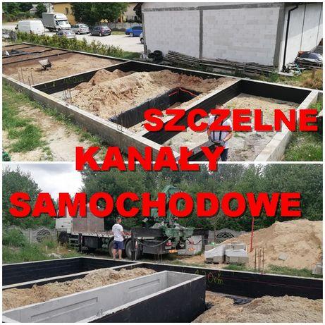KANAŁ samochodowy 3m TANIO kanał betonowy dostawa Grójec Radzymin Brok